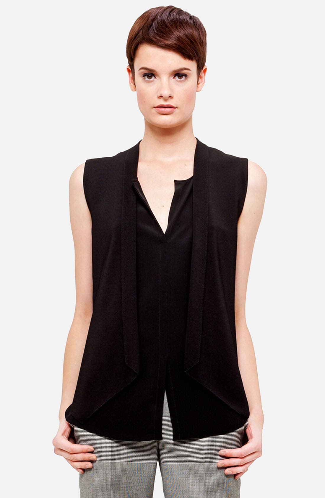 Alternate Image 1 Selected - Akris punto Knit Vest