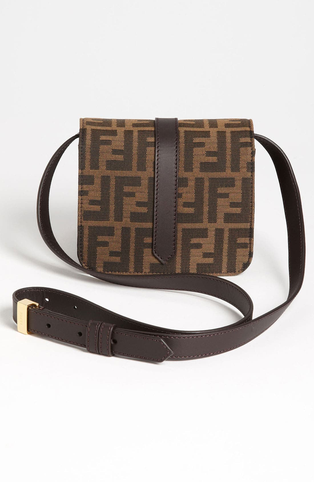 Alternate Image 4  - Fendi 'Tevere Zucca - Mini' Crossbody Bag