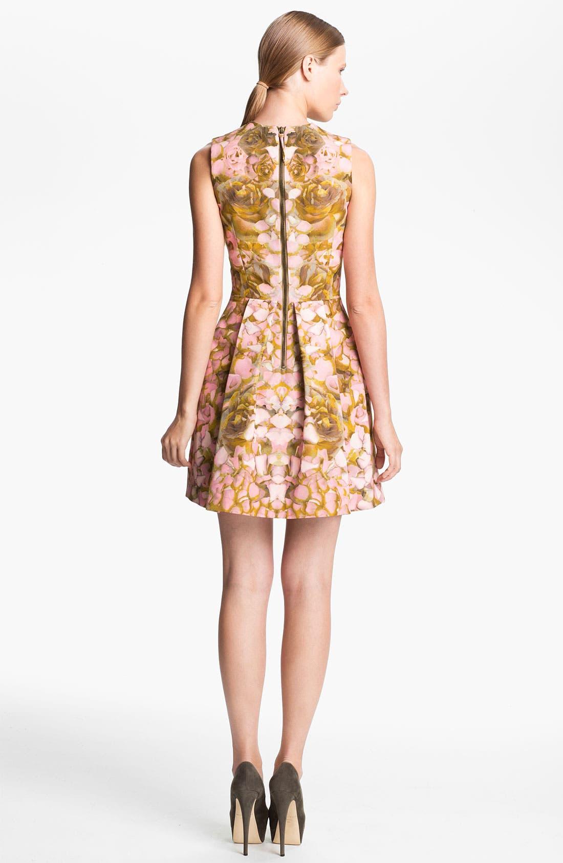 Alternate Image 2  - McQ by Alexander McQueen Rose Print Dress