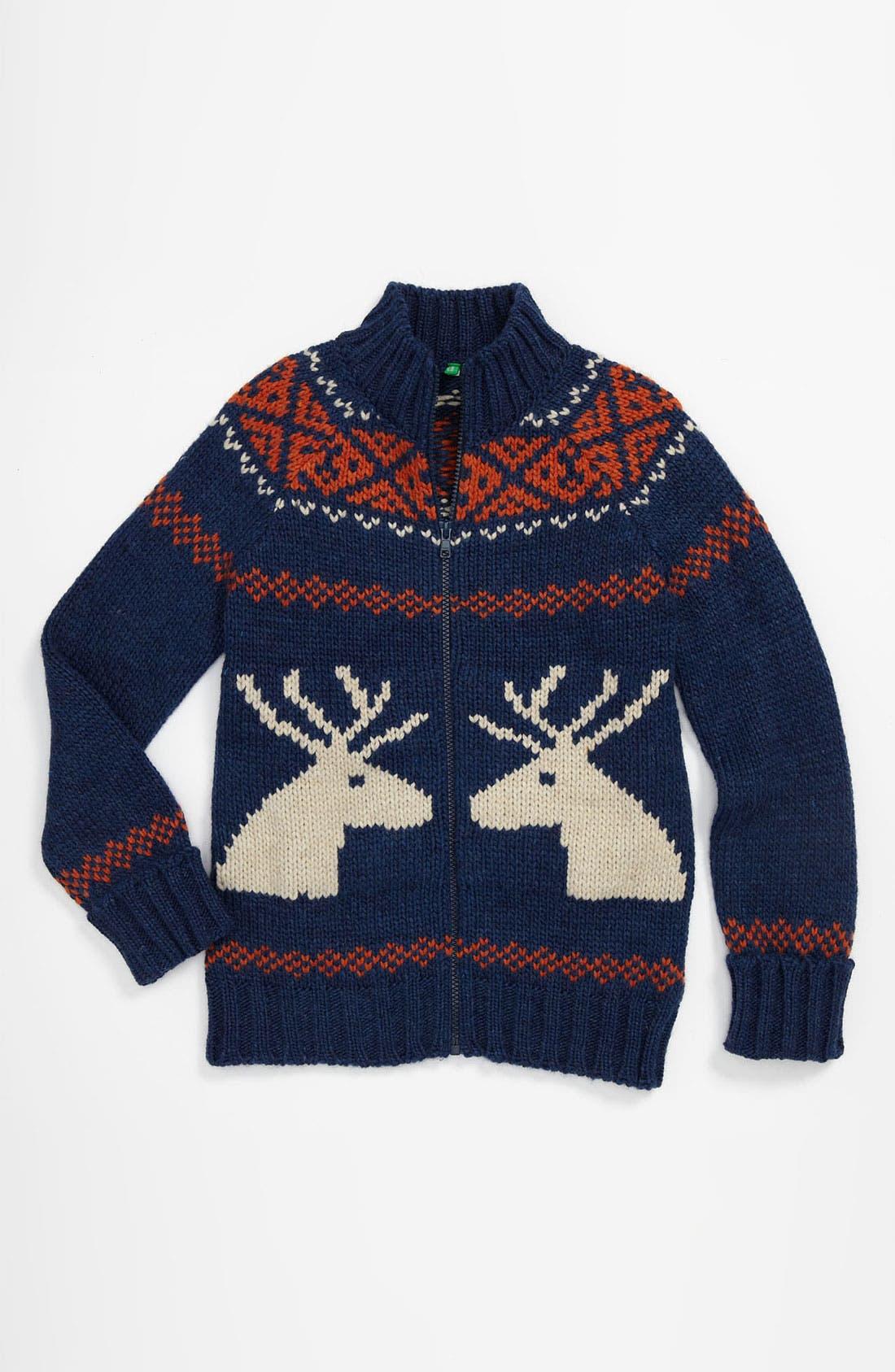 Alternate Image 1 Selected - United Colors of Benetton Kids Sweater (Little Boys & Big Boys)