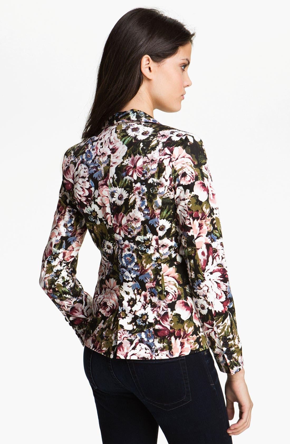 Alternate Image 2  - Eight Sixty Floral Print Jacket