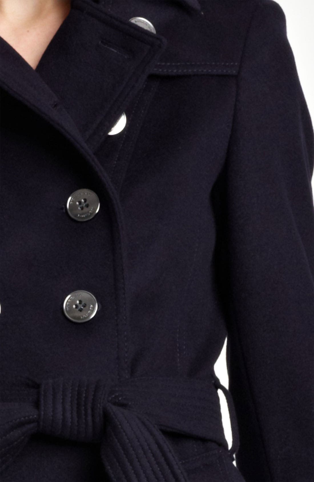 Alternate Image 3  - Burberry London Double Breasted Wool & Cashmere Trench Coat