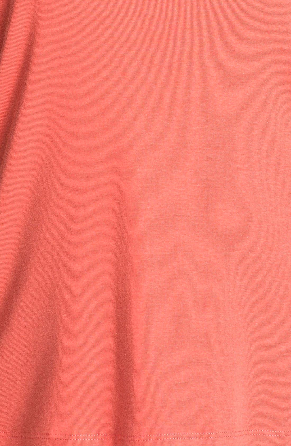 Alternate Image 3  - Sejour Elbow Sleeve Tee (Plus Size)