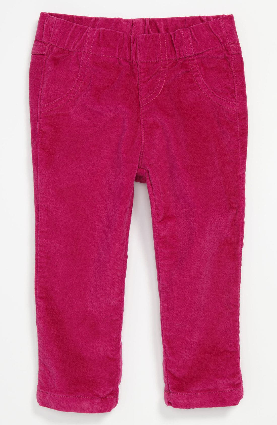 Alternate Image 1 Selected - United Colors of Benetton Kids Velvet Pants (Infant)
