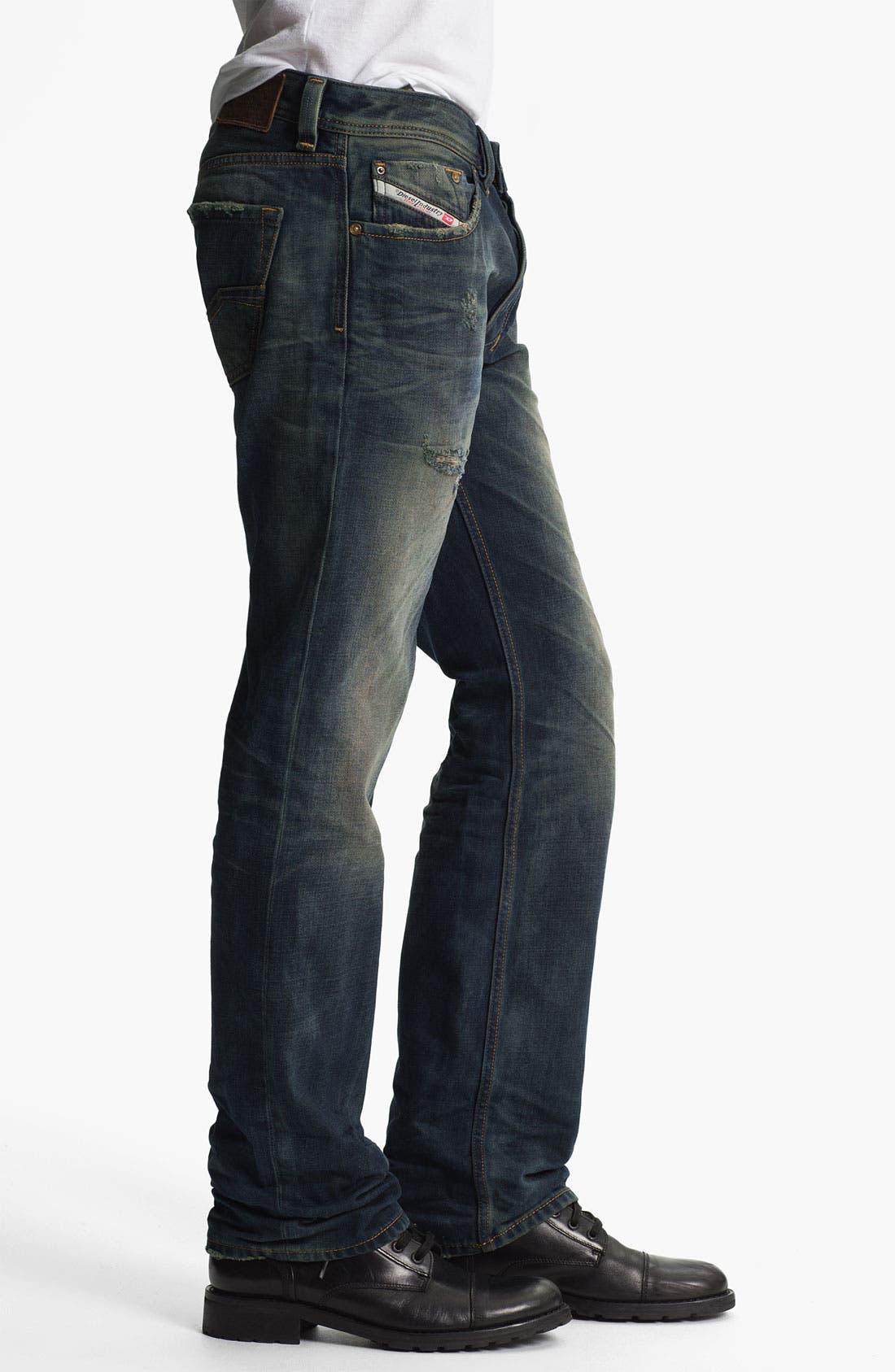 Alternate Image 3  - DIESEL® 'Larkee' Straight Leg Jeans (0075L)