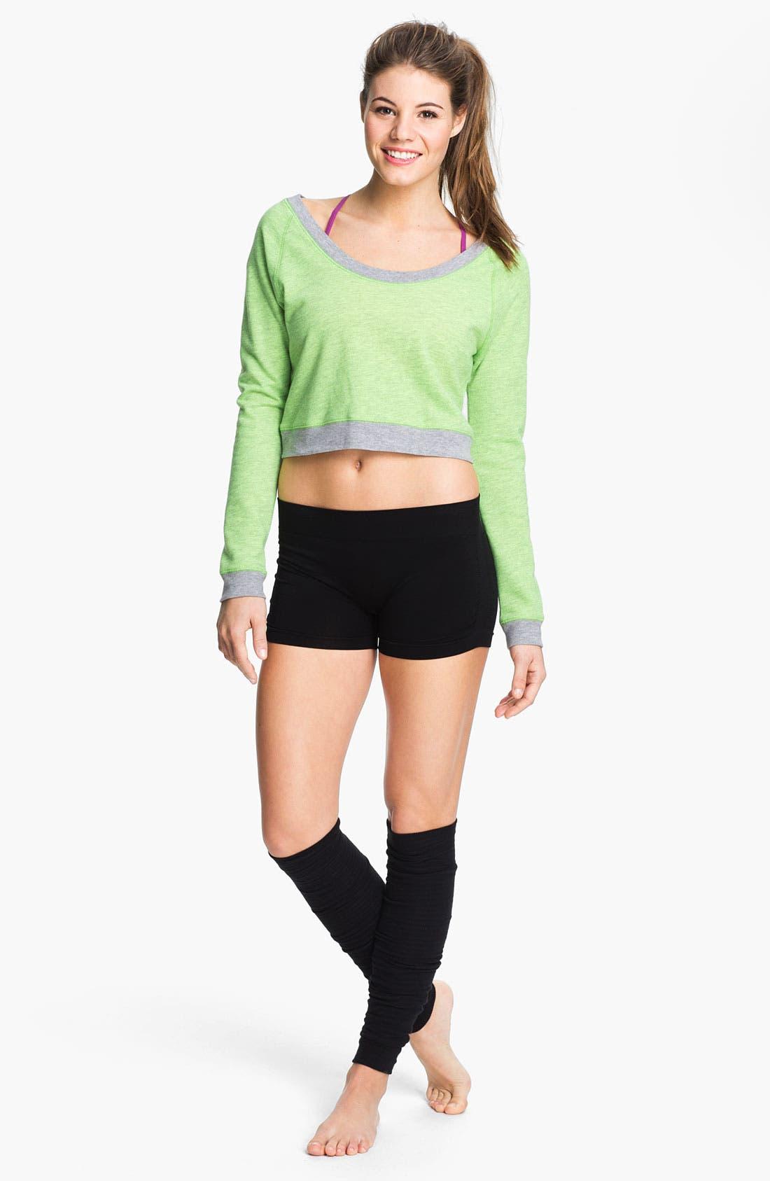 Alternate Image 3  - Unit-Y 'Hot' Ruched Shorts