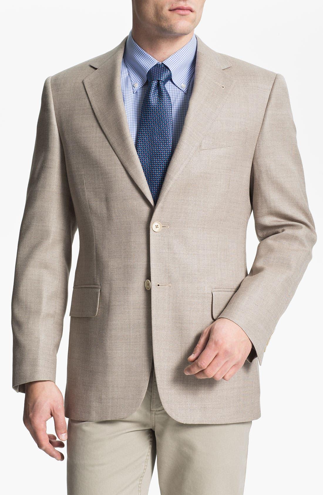Main Image - Joseph Abboud Silk Blend Sportcoat