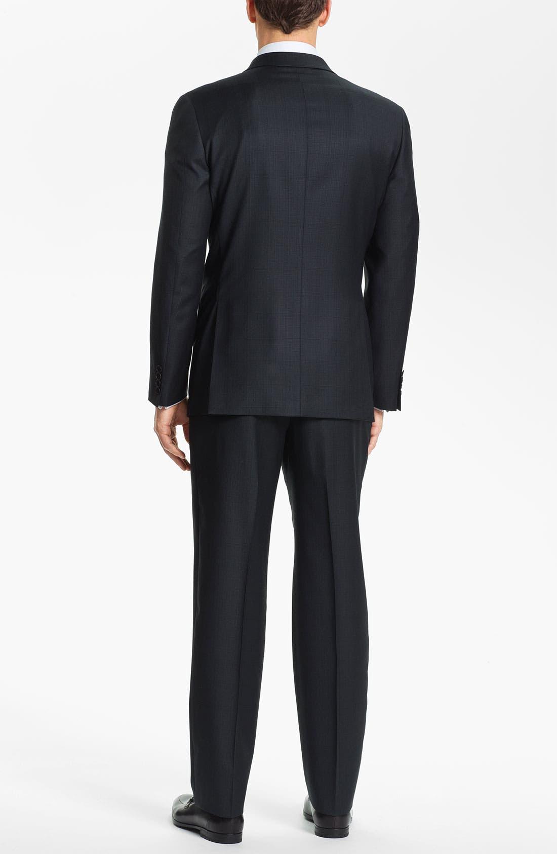 Alternate Image 3  - Joseph Abboud Trim Fit Three Piece Suit