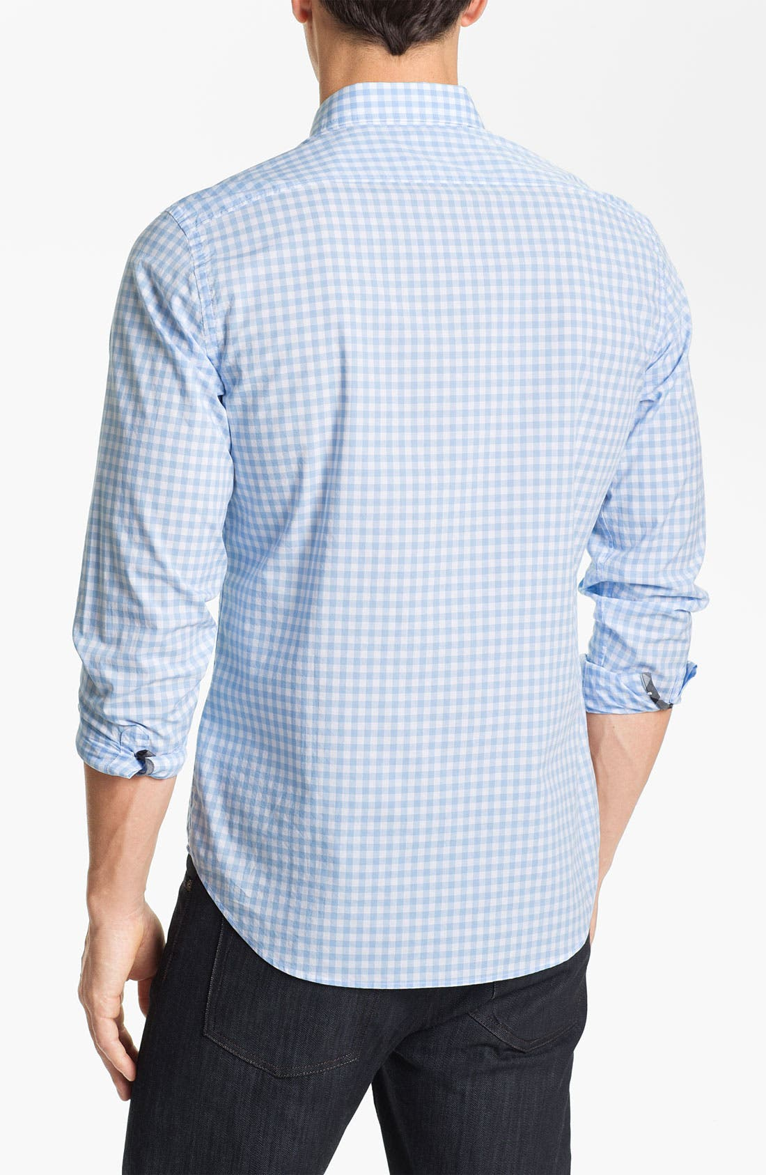 Alternate Image 2  - Burberry Brit 'Fred' Gingham Check Poplin Sport Shirt
