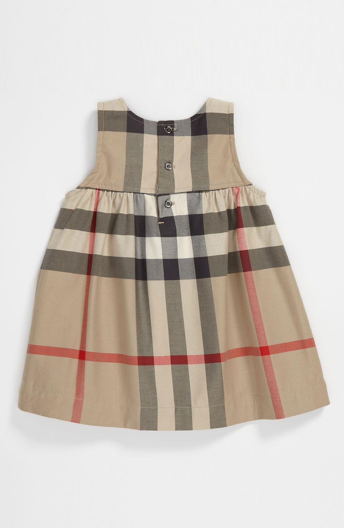 Alternate Image 2  - Burberry 'Della' Dress (Toddler)