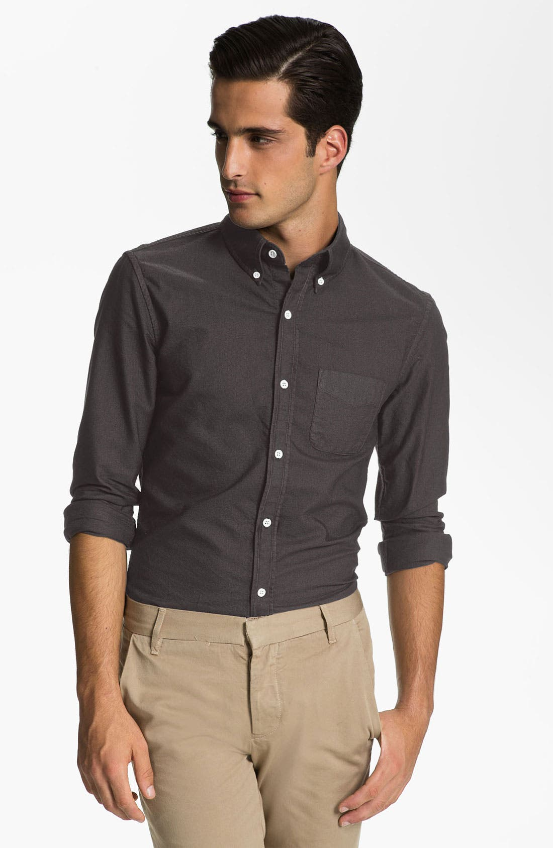 Main Image - Band of Outsiders Oxford Shirt