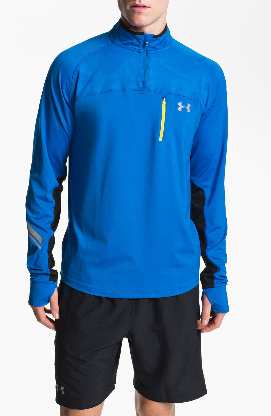Alternate Image 1 Selected - Under Armour 'Imminent Run' Quarter Zip Pullover