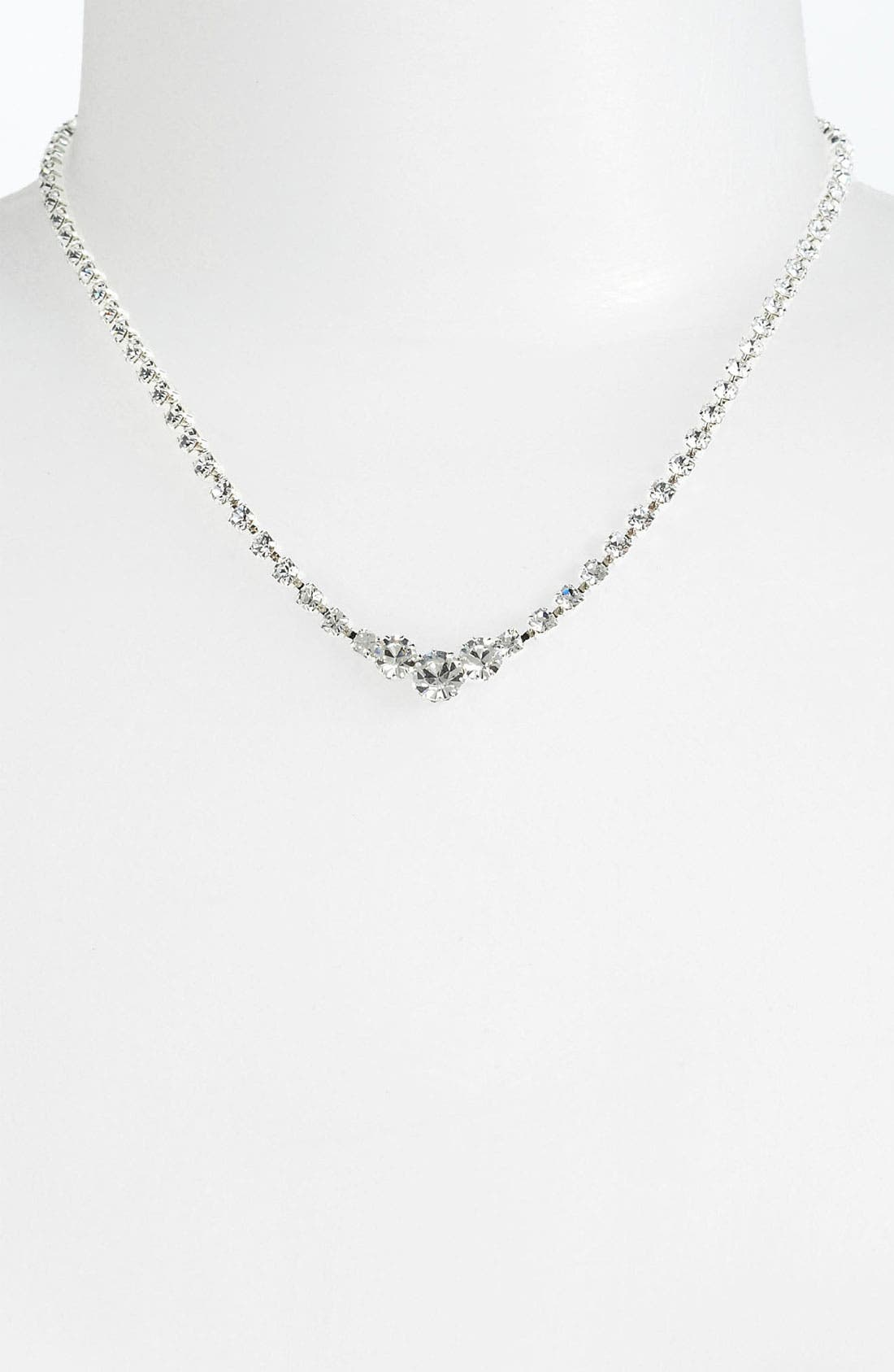 Alternate Image 2  - Rosa Crystal Collection Jewelry Collar Necklace