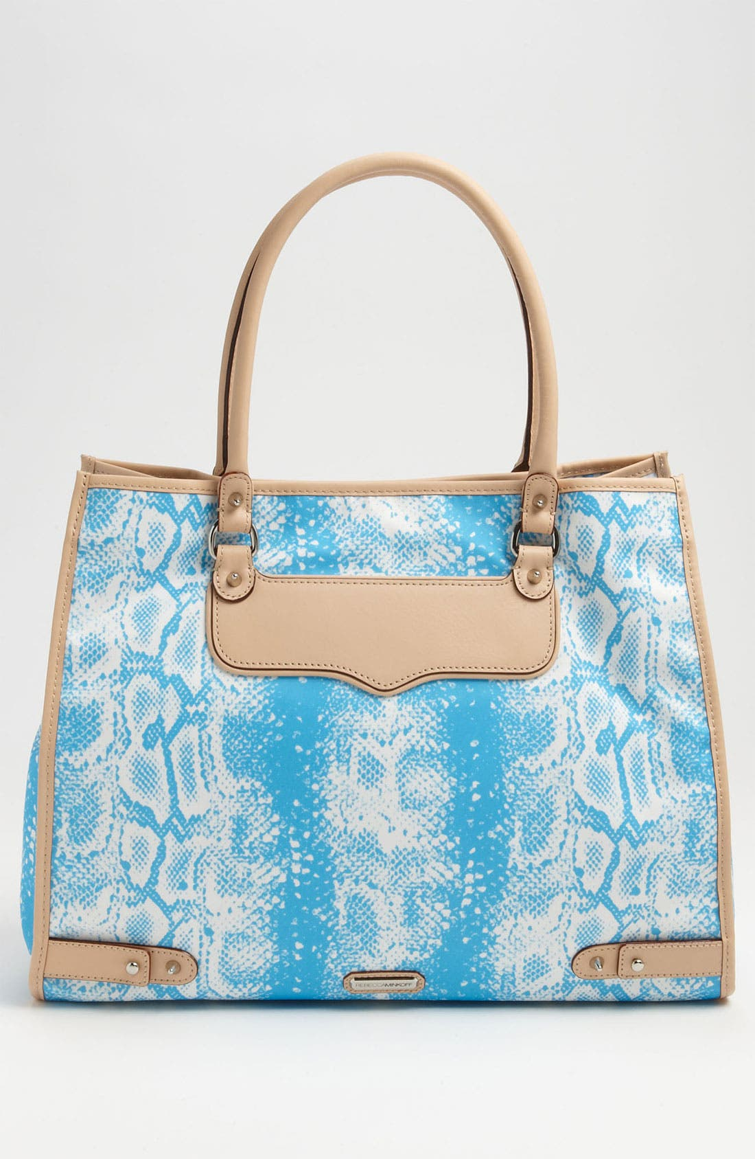 Alternate Image 4  - Rebecca Minkoff 'Diamond' Snakeskin Print Tote