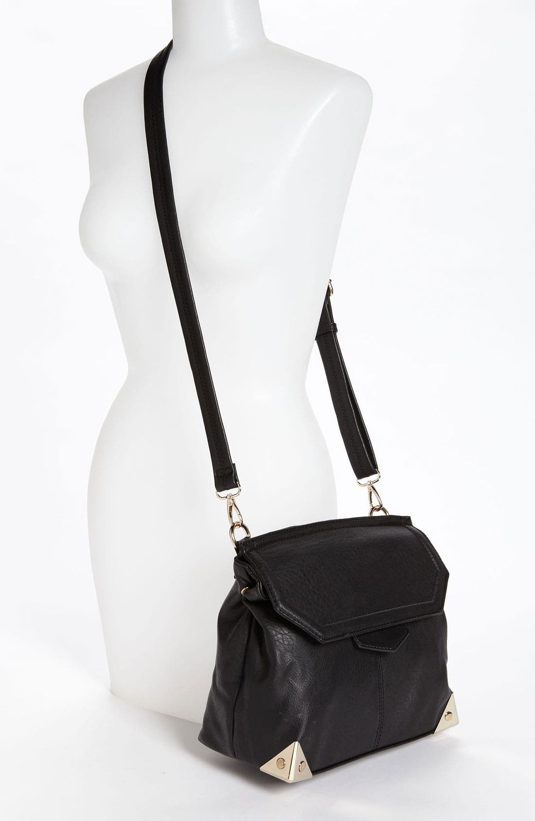 Alternate Image 2  - Emperia Metal Corner Crossbody Bag