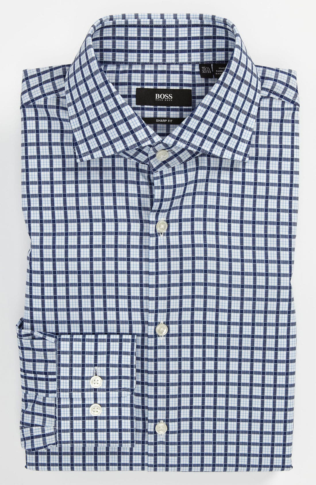 Alternate Image 1 Selected - BOSS HUGO BOSS Sharp Fit Dress Shirt (Online Only)