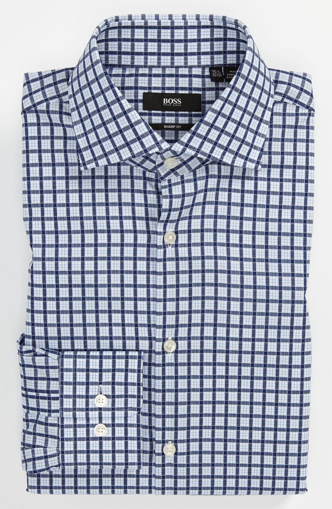 Main Image - BOSS HUGO BOSS Sharp Fit Dress Shirt (Online Only)