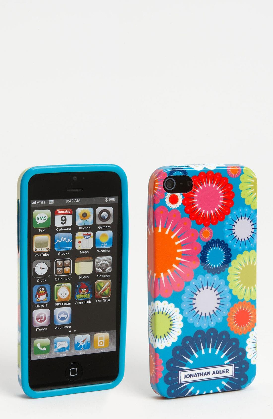 Alternate Image 1 Selected - Jonathan Adler 'Mod Floral' iPhone 5 Case
