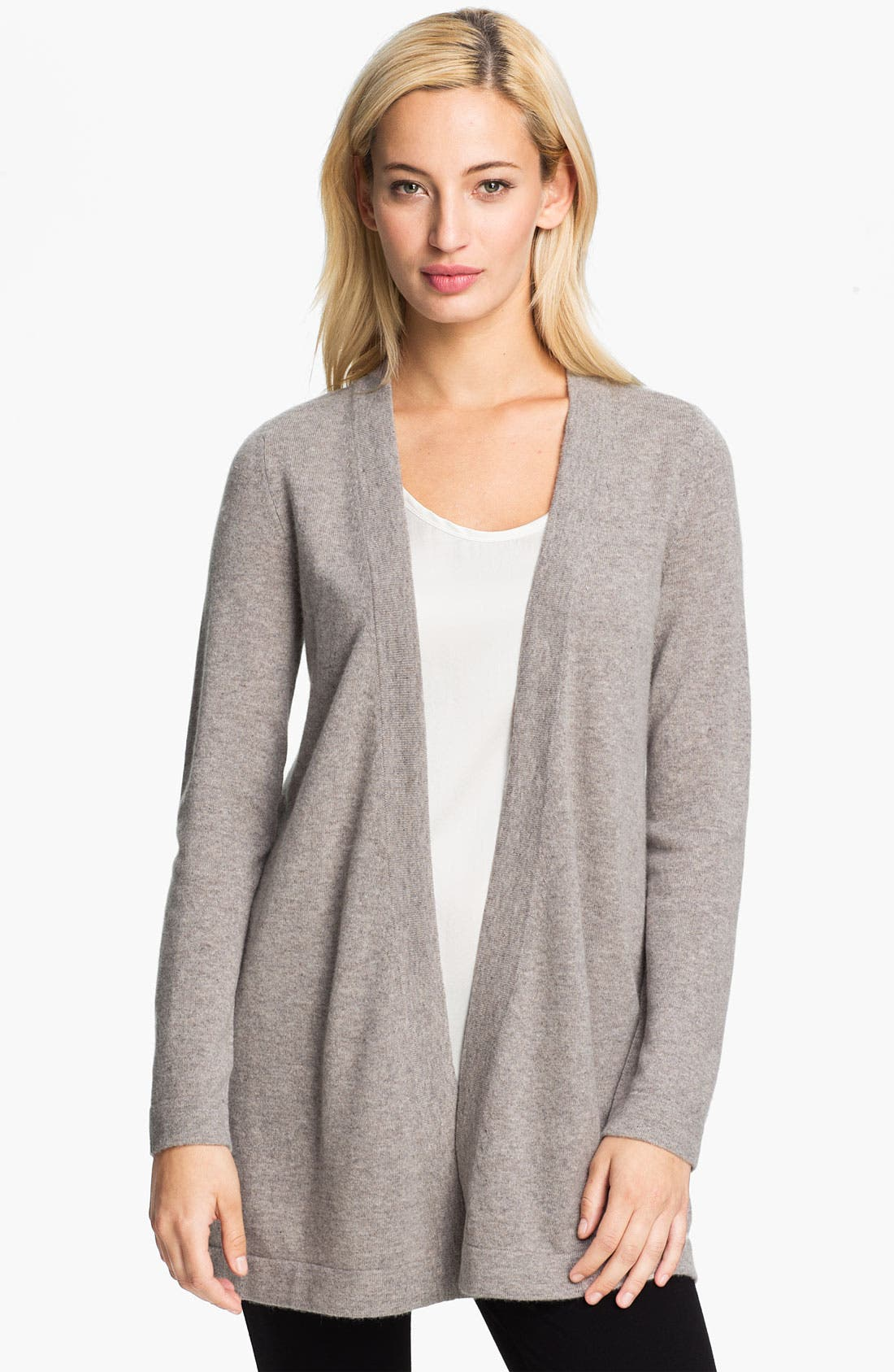 Main Image - Christopher Fischer 'Carolyn' Cashmere Cardigan (Online Exclusive)