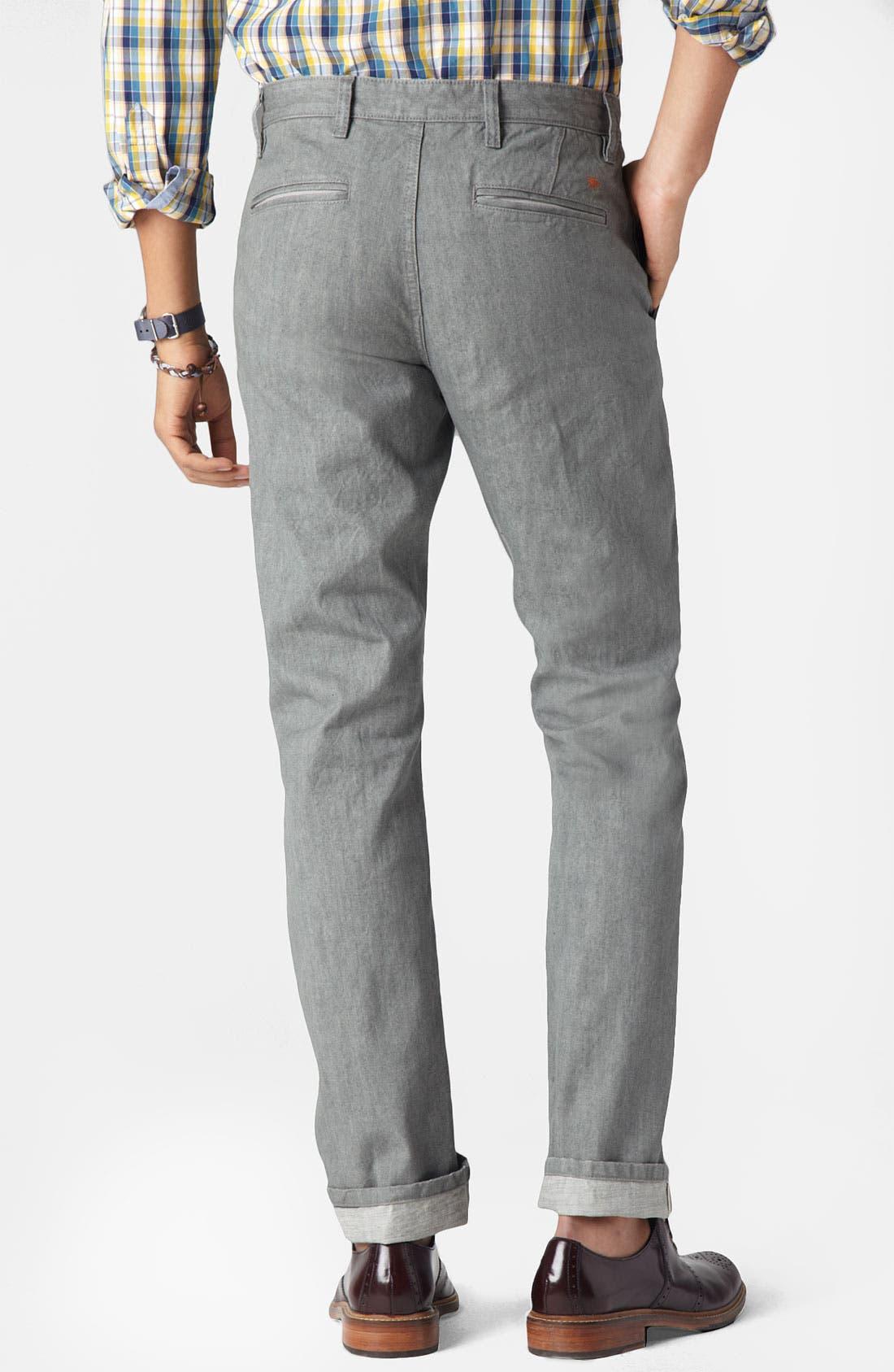 Alternate Image 2  - Dockers® 'Alpha Khaki - Selvedge' Slim Straight Leg Pants (Online Exclusive)