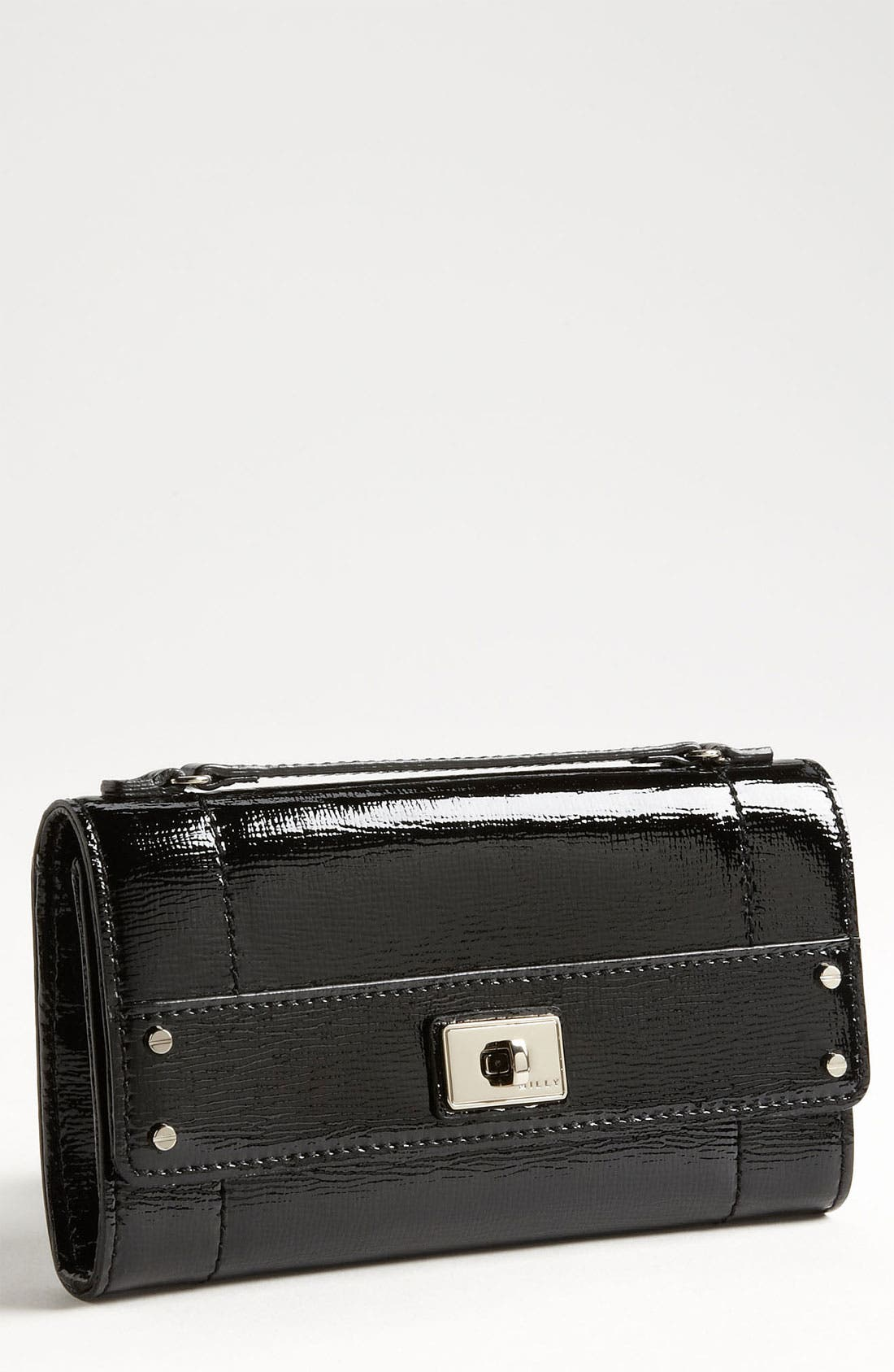 Alternate Image 1 Selected - Milly 'Colette' Patent Leather Wallet