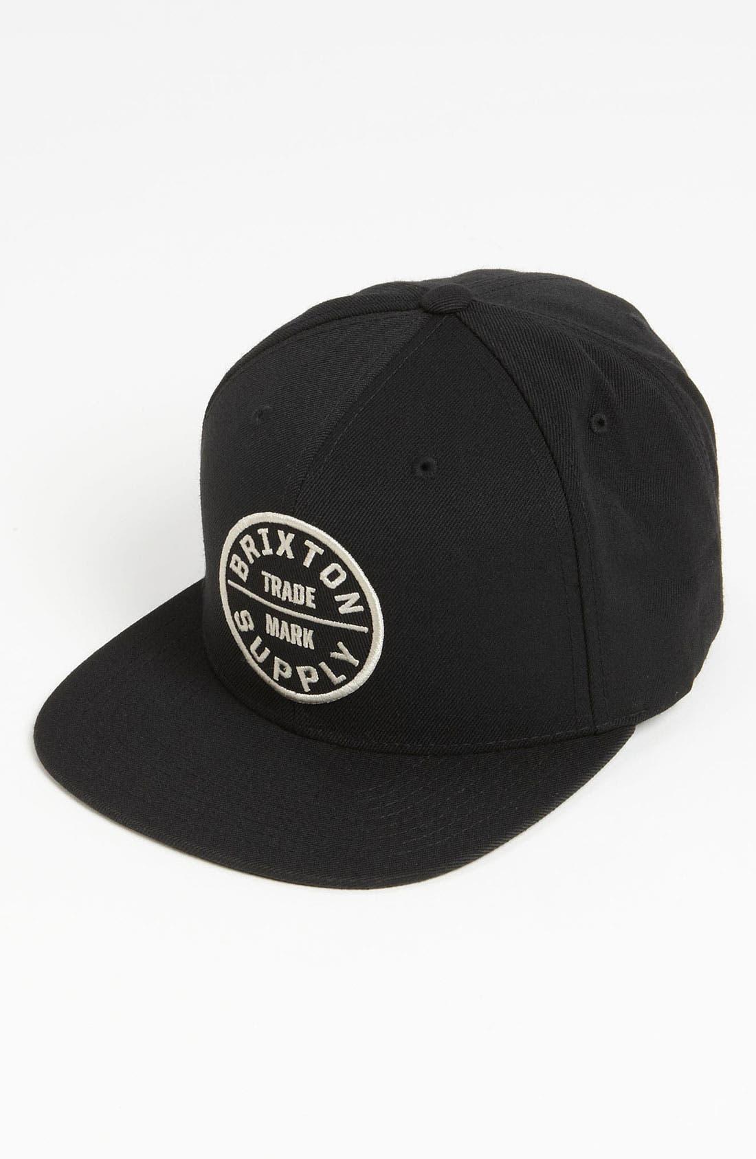 Alternate Image 1 Selected - Brixton 'Oath III' Snapback Cap