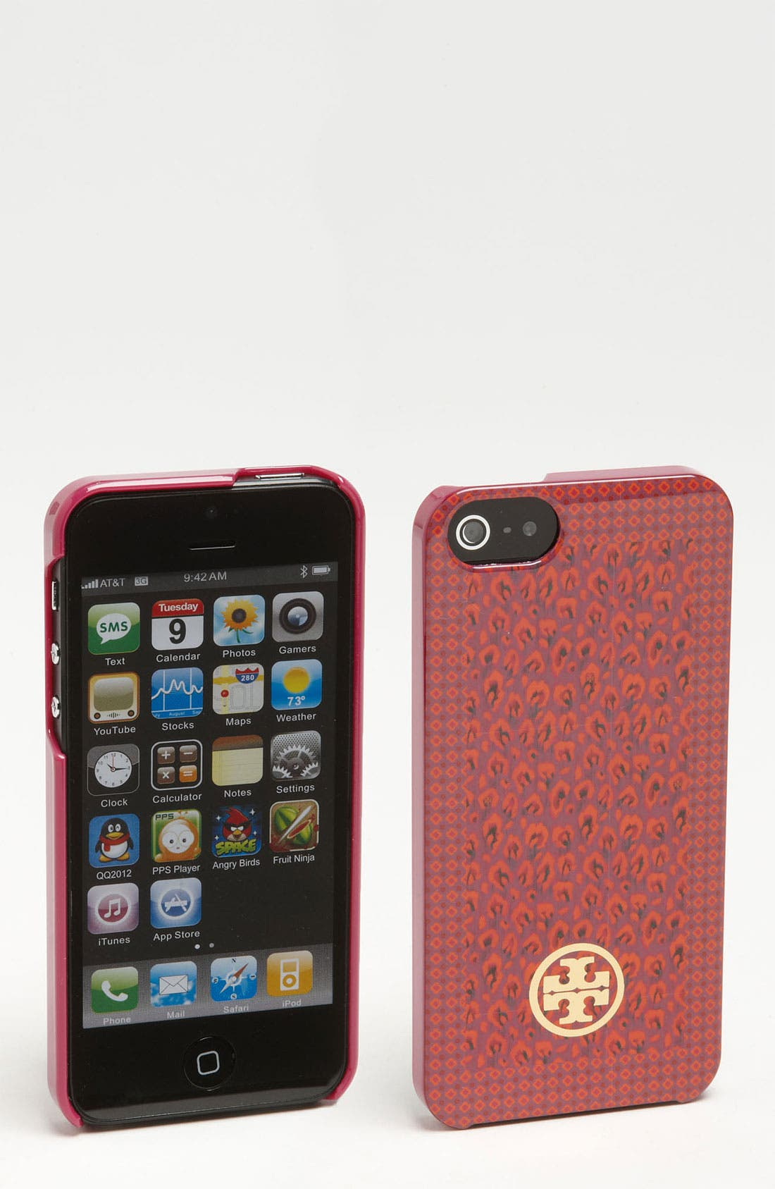 Alternate Image 1 Selected - Tory Burch 'Wray Mix' iPhone 5 Case