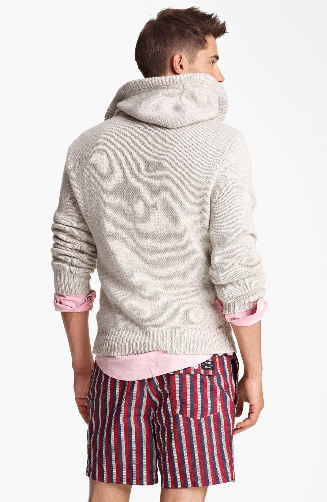 Alternate Image 2  - Jack Spade 'Baker' Hooded Sweater