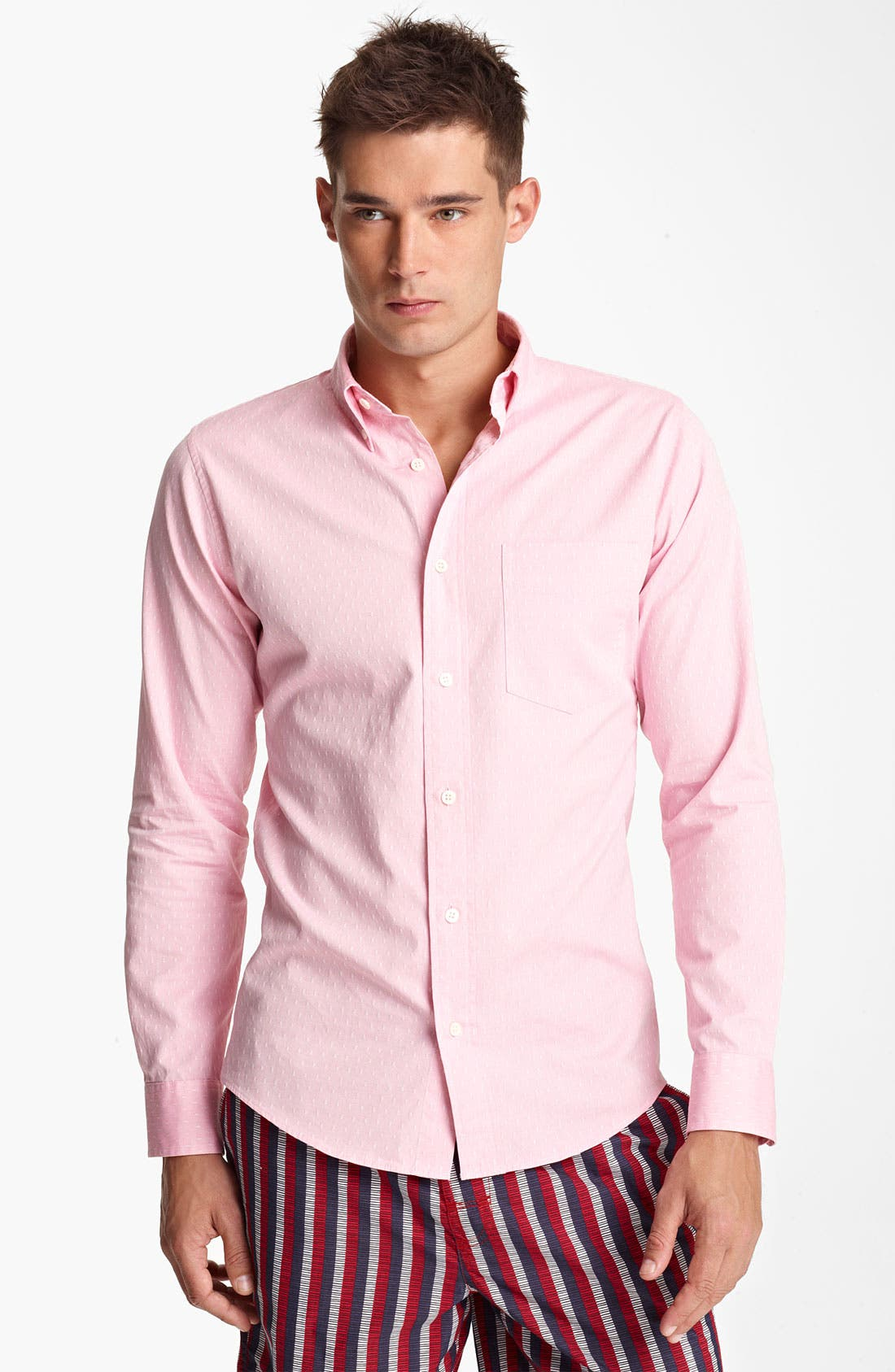 Alternate Image 1 Selected - Jack Spade 'Yeoman' Woven Shirt