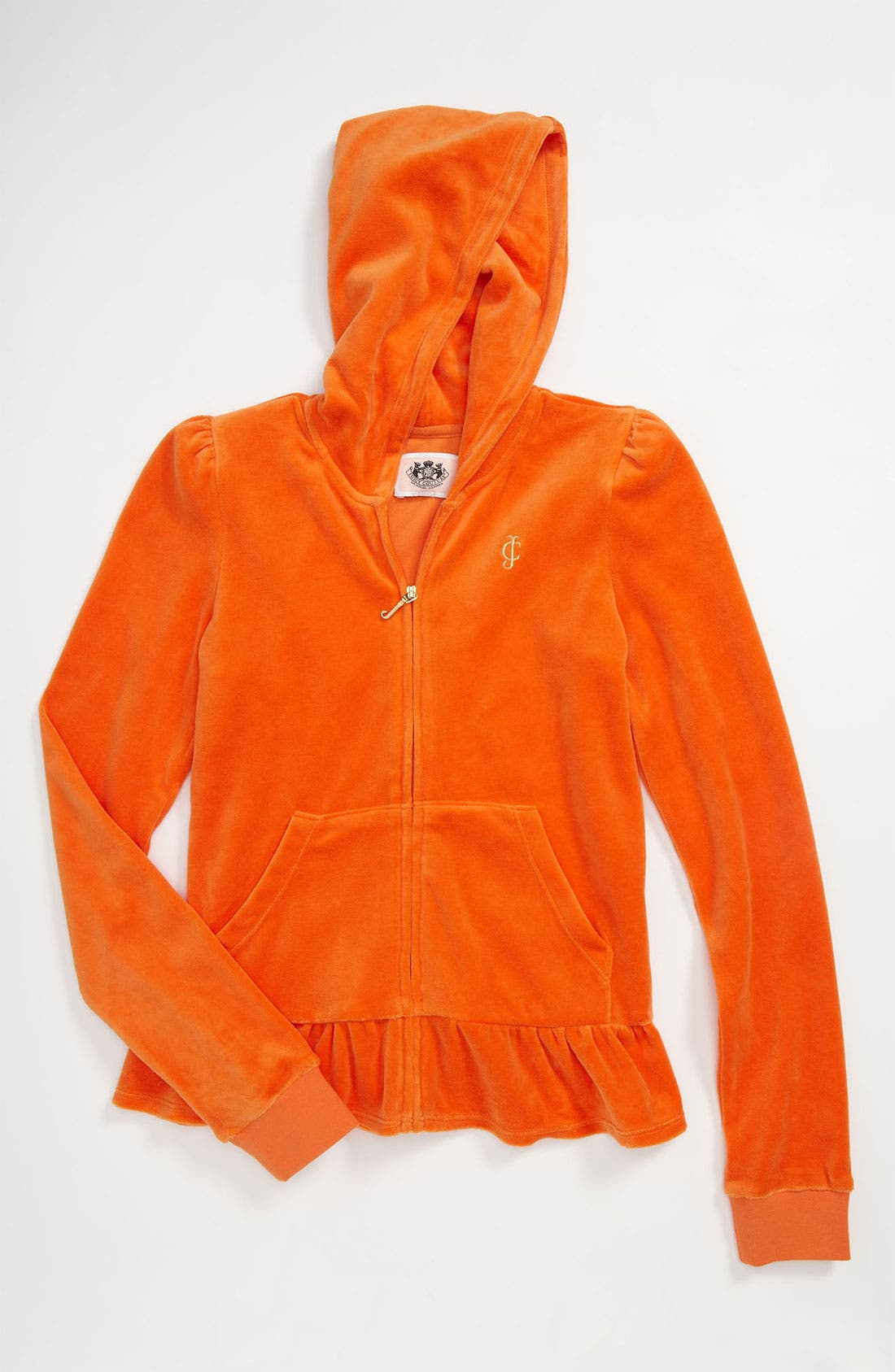 Alternate Image 1 Selected - Juicy Couture 'Basic' Hoodie (Little Girls & Big Girls)