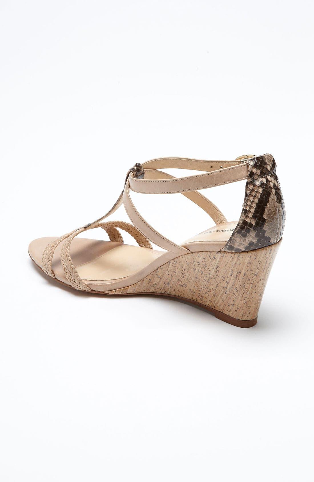 Alternate Image 2  - Alexandre Birman Braid Cork Sandal