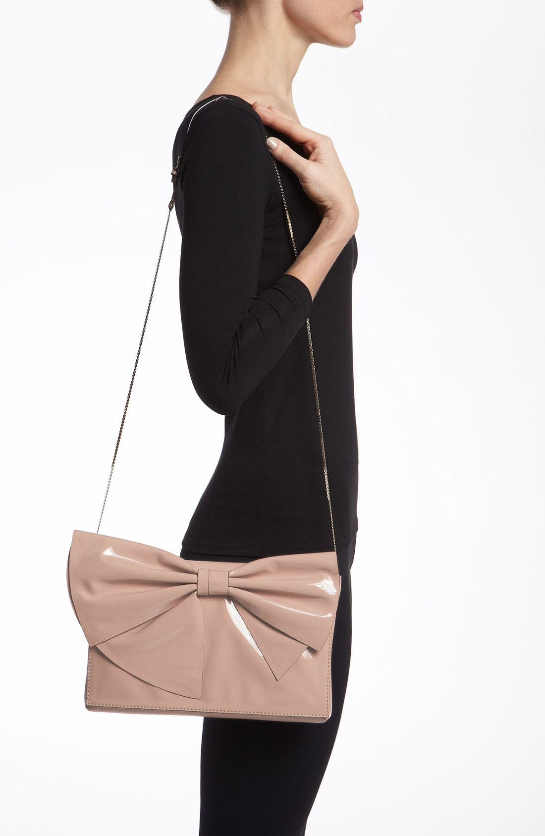 Alternate Image 2  - Valentino 'Lacca Bow' Flap Clutch