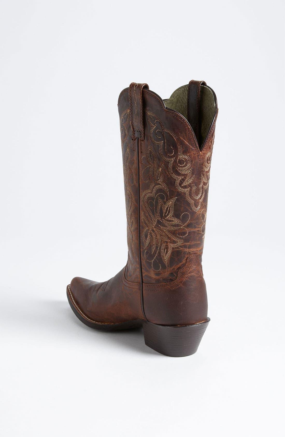 Alternate Image 2  - Ariat 'Heritage Western J Toe' Boot