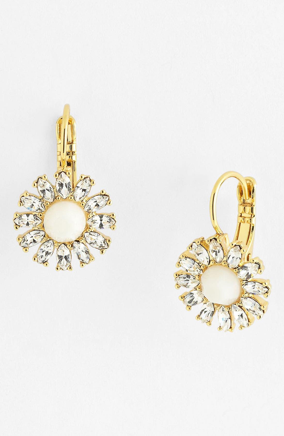 Alternate Image 1 Selected - kate spade new york 'estate garden' drop earrings