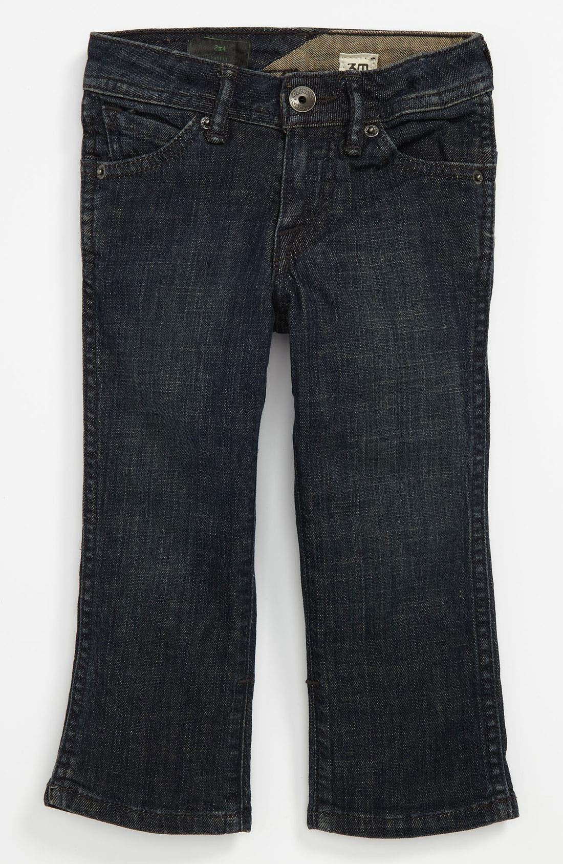 Alternate Image 2  - Volcom '2x4' Jeans (Toddler)