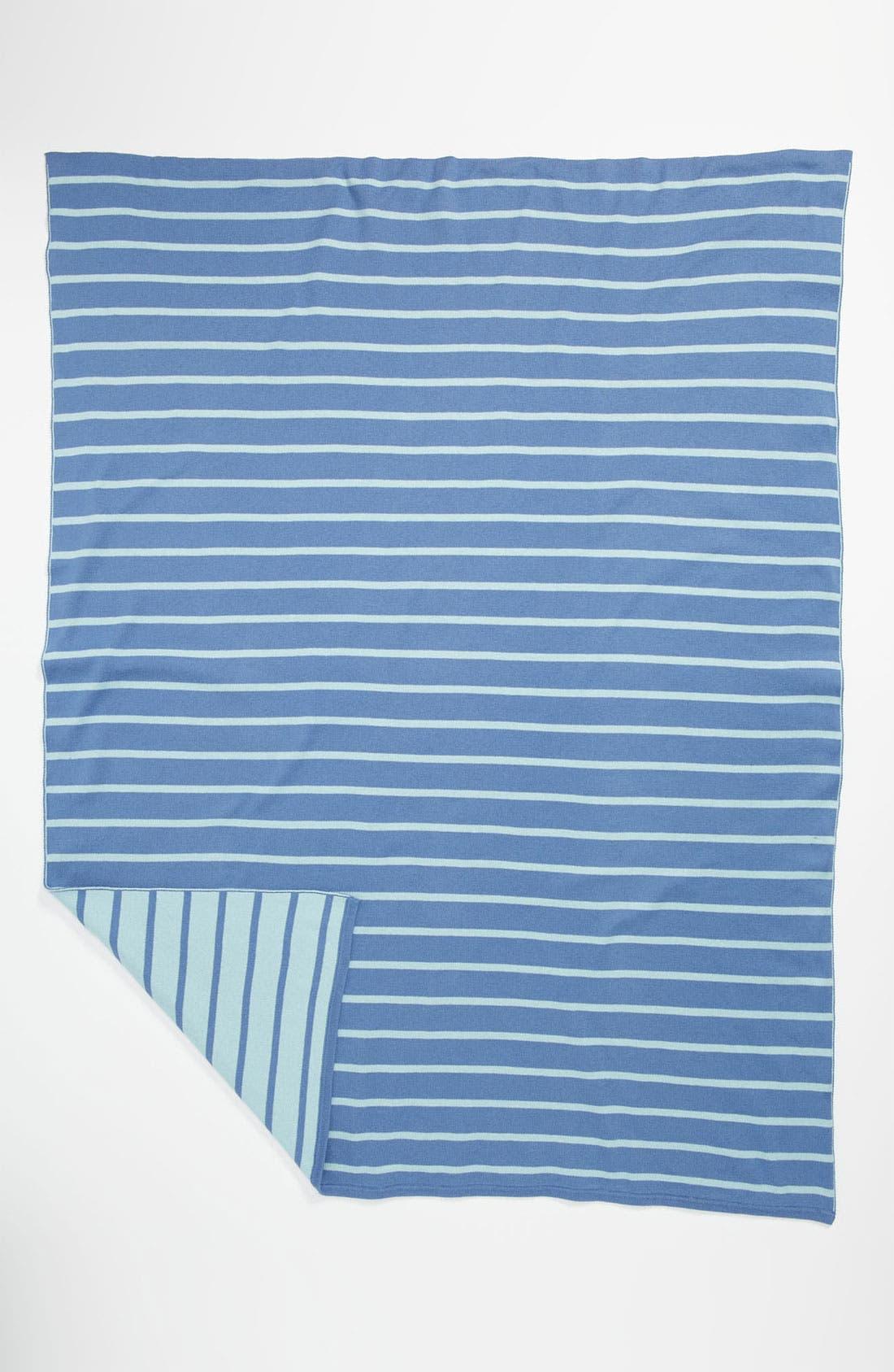 Main Image - Stem Baby 'Bright Stripe' Organic Cotton Blanket