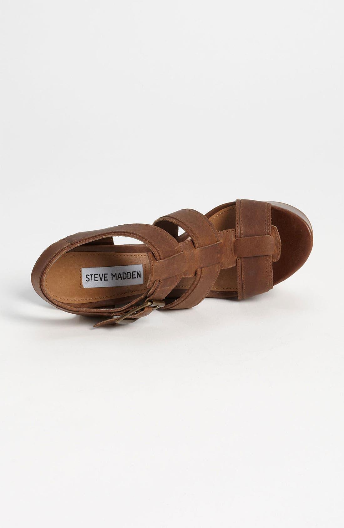 Alternate Image 3  - Steve Madden 'Wanting' Wedge Sandal