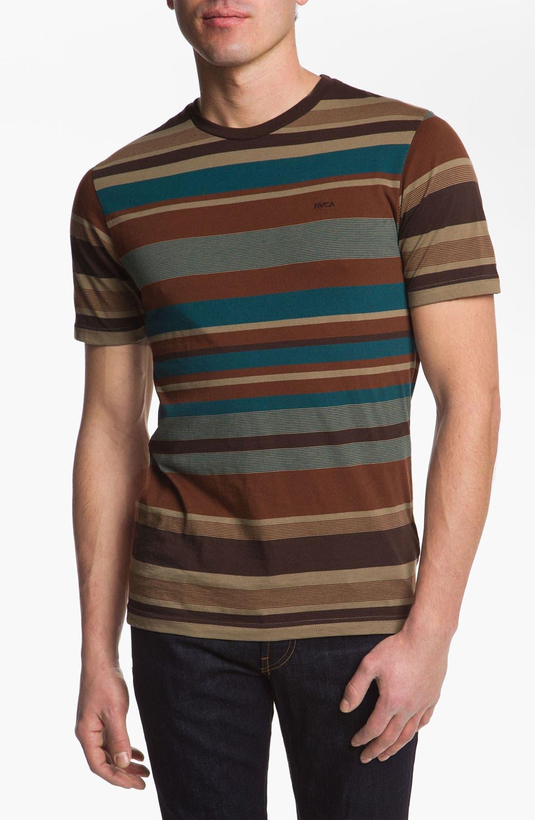 Alternate Image 1 Selected - RVCA 'Adirondack' Short Sleeve Jersey T-Shirt