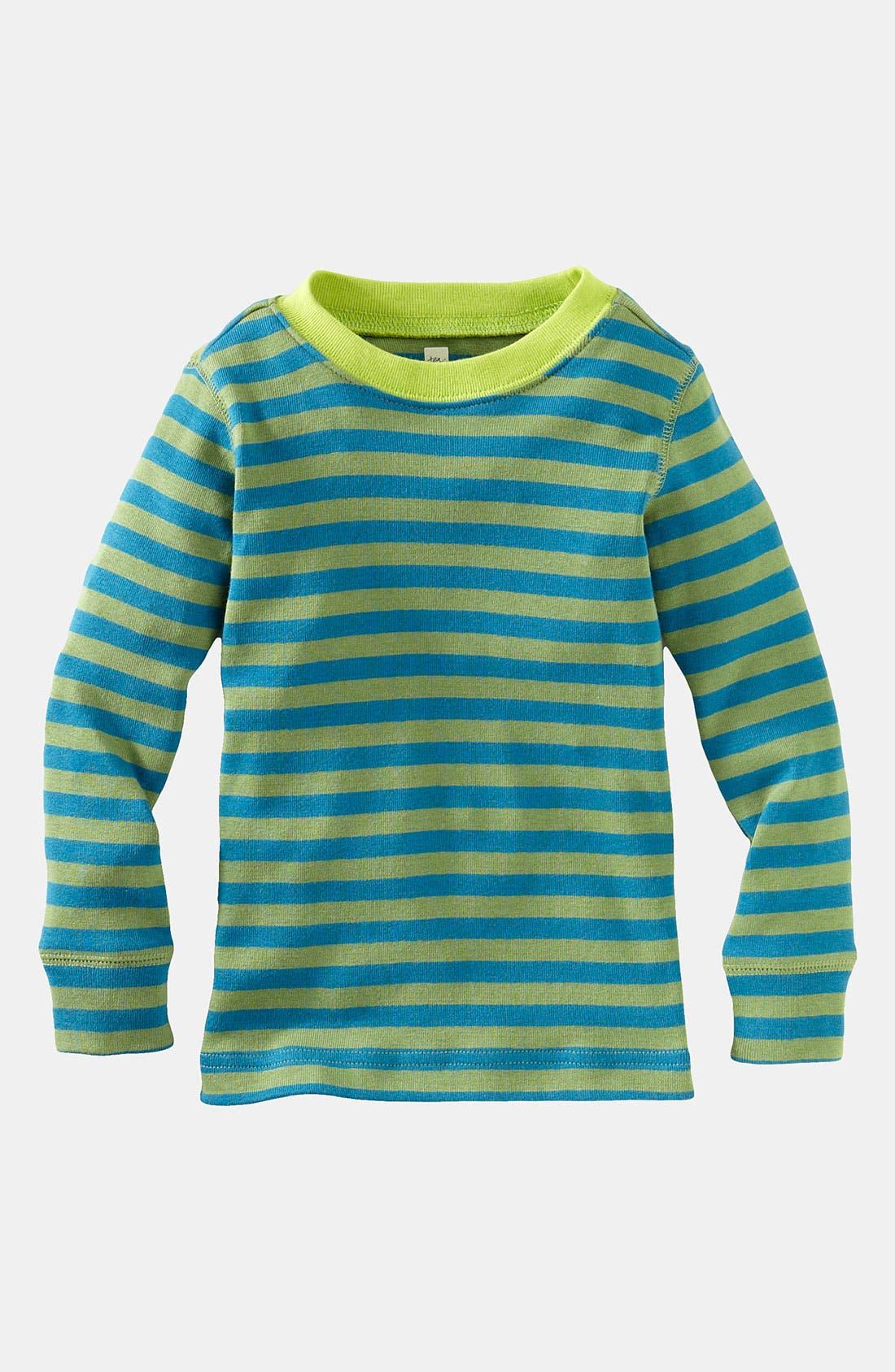 Main Image - Tea Collection Stripe T-Shirt (Toddler)