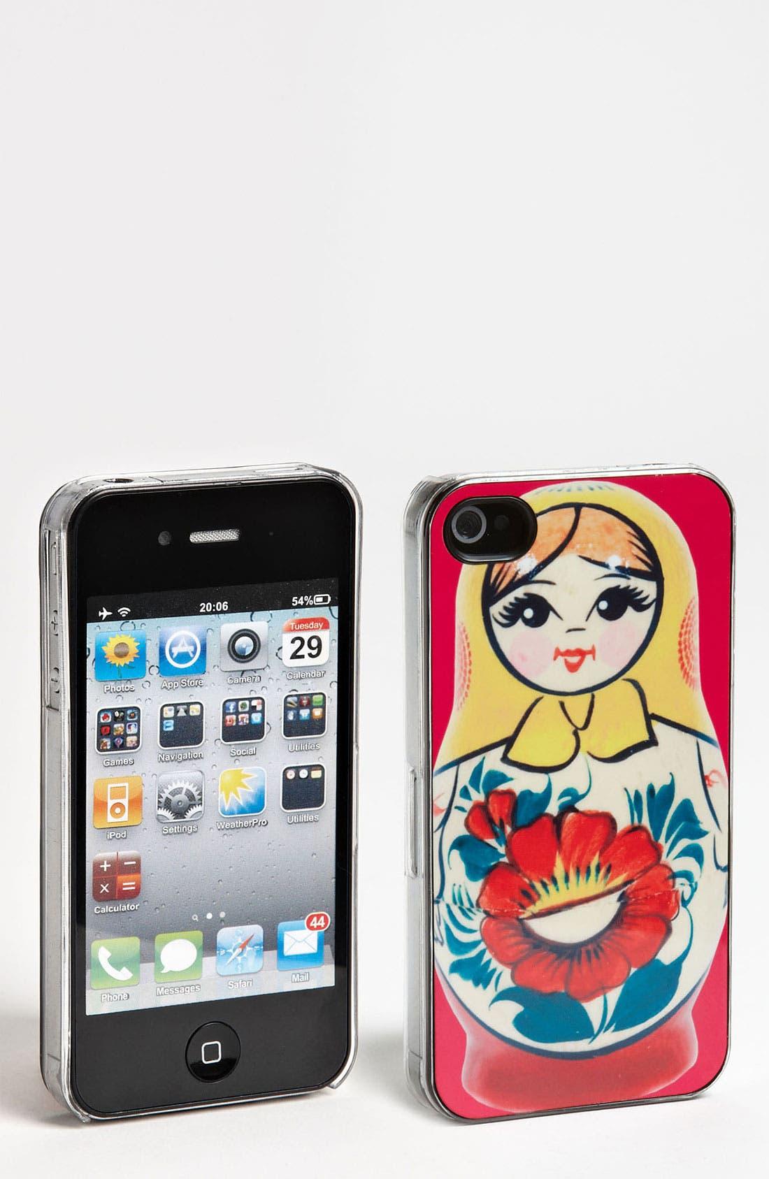 Alternate Image 1 Selected - ZERO GRAVITY 'Russian Cutie' iPhone 4 & 4S Case