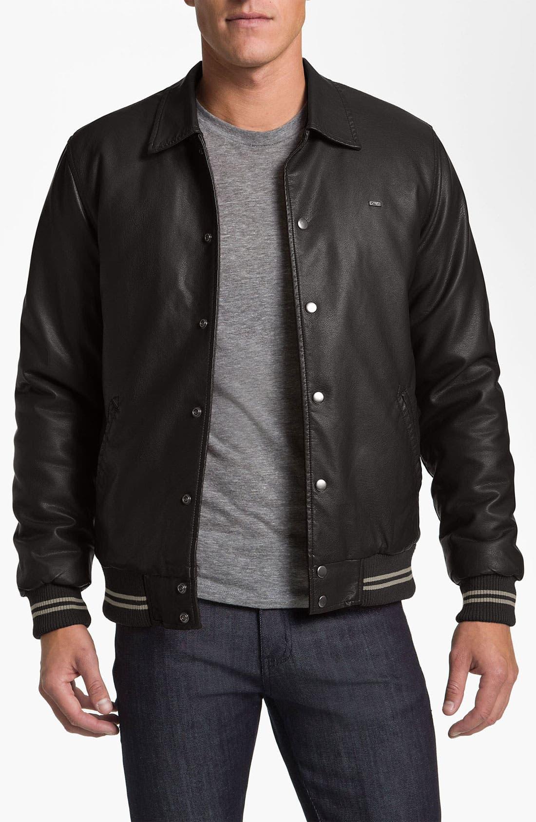Alternate Image 1 Selected - Obey Classic Varsity Jacket