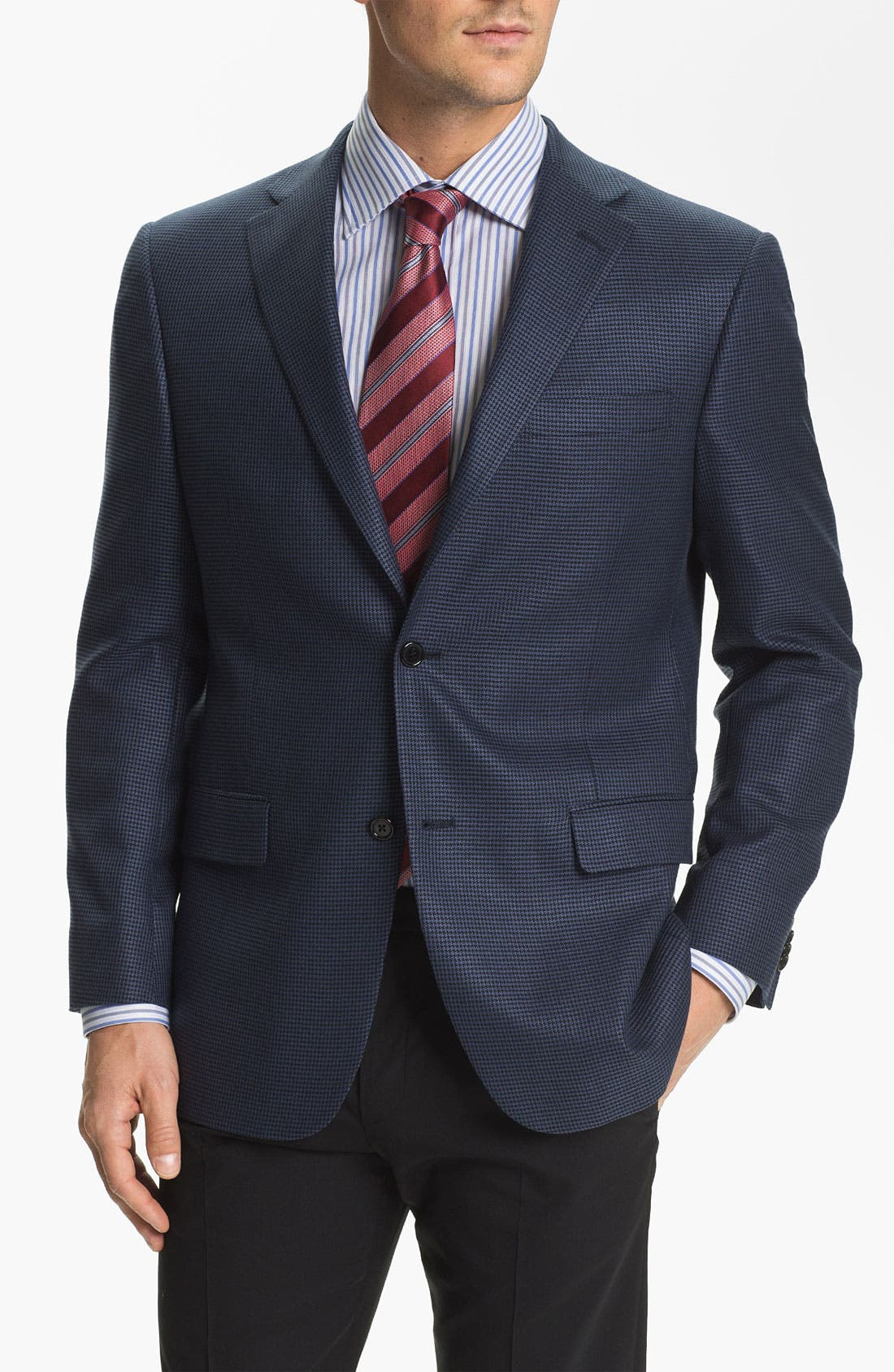 Alternate Image 1 Selected - Hart Schaffner Marx Silk Blend Sportcoat