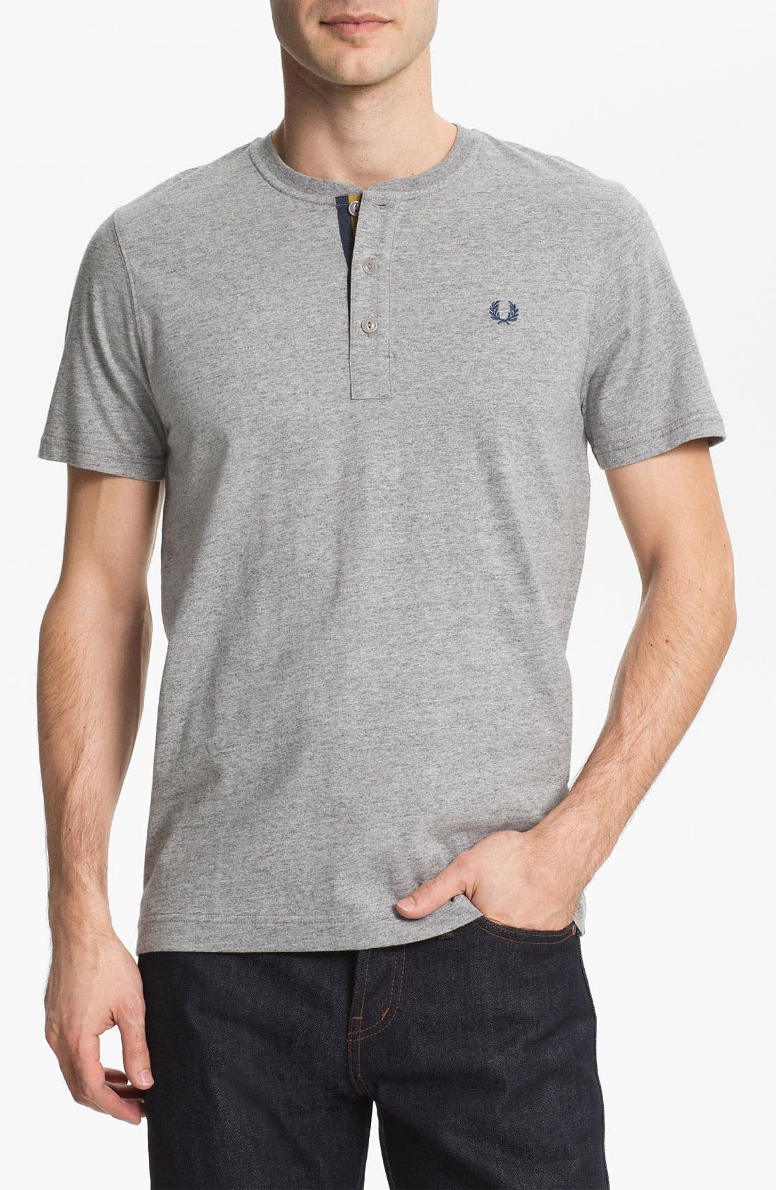 Alternate Image 1 Selected - Fred Perry Henley T-Shirt