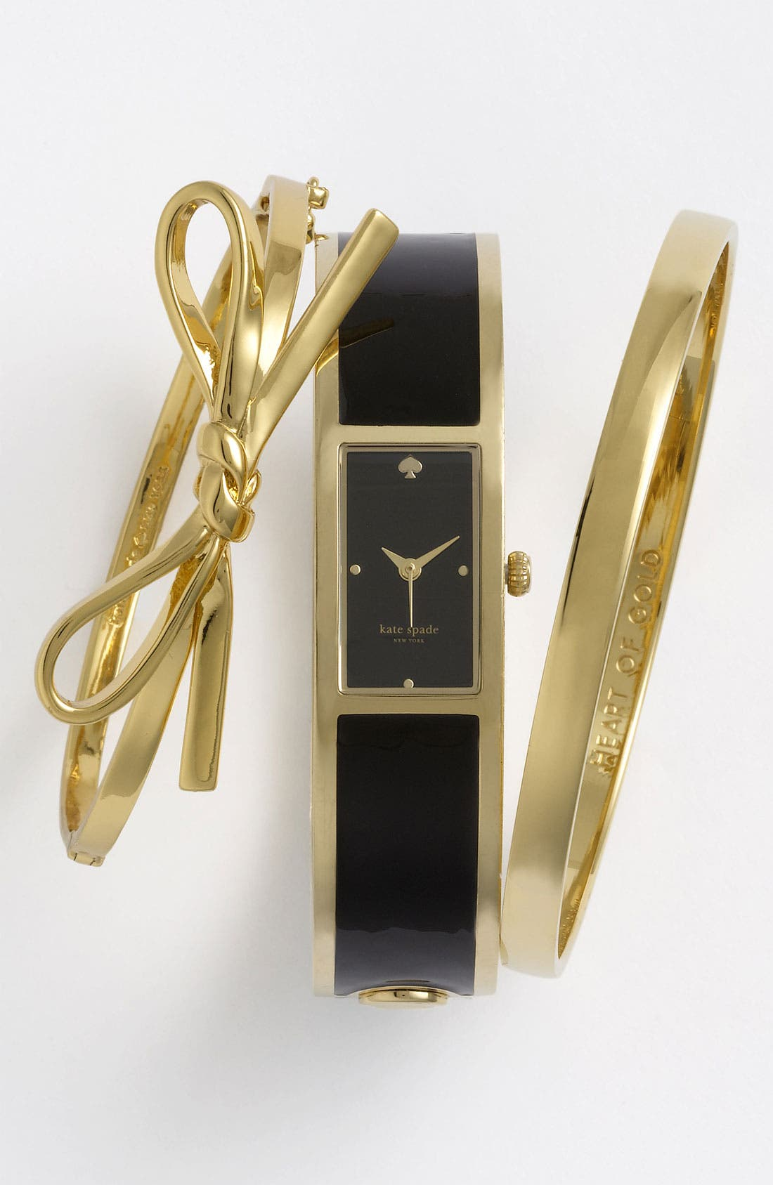 Alternate Image 3  - kate spade new york 'carousel' bangle watch, 15mm x 16mm
