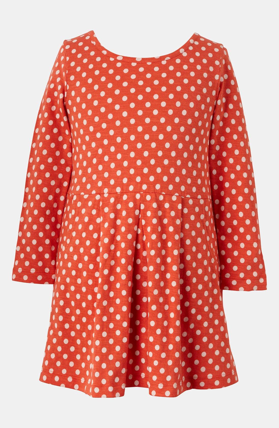 Alternate Image 1 Selected - Mini Boden 'Slouchy' Jersey Dress (Little Girls & Big Girls)