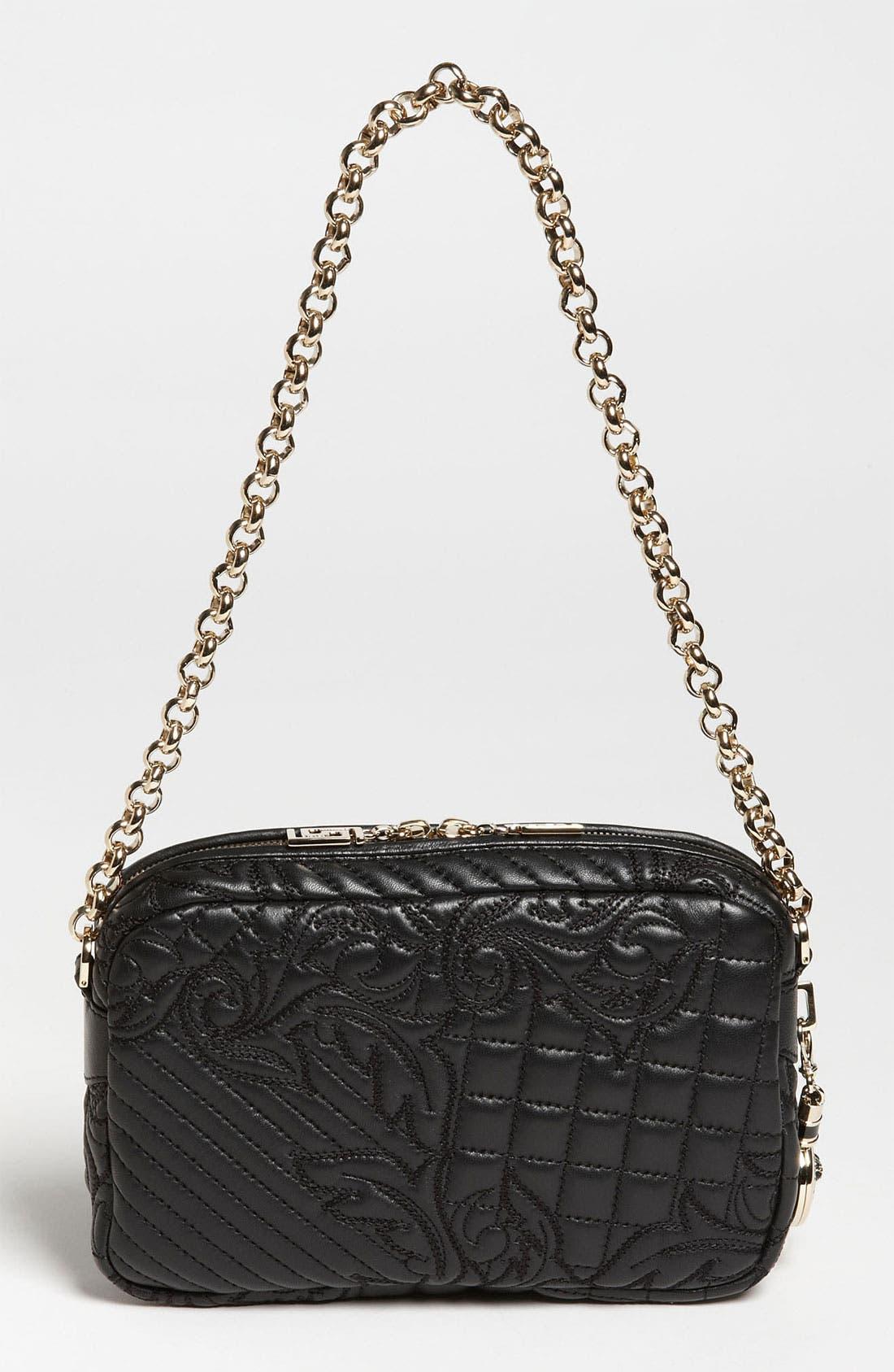 Alternate Image 4  - Versace 'Vanitas' Embroidered Leather Shoulder Bag