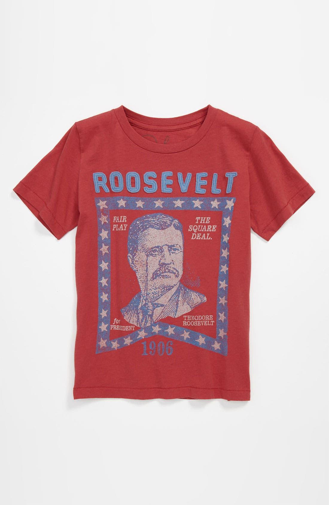 Alternate Image 1 Selected - Peek 'Roosevelt' T-Shirt (Little Boys & Big Boys)
