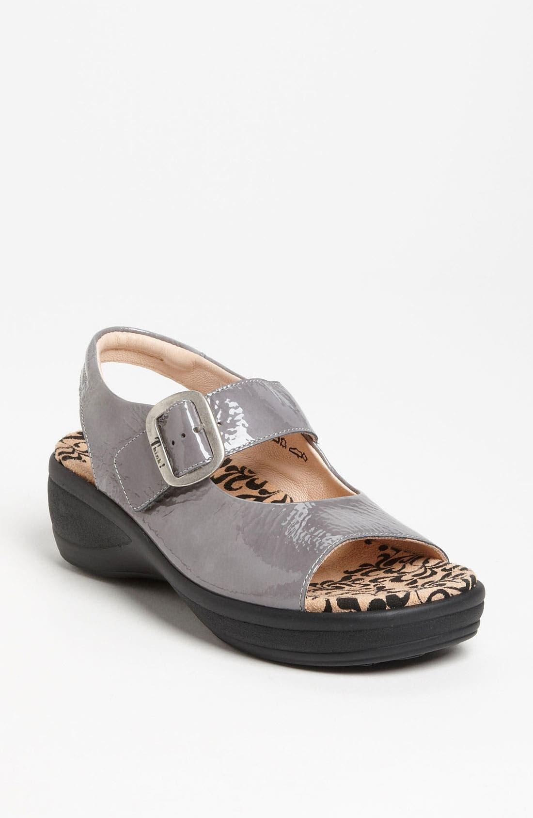 Alternate Image 1 Selected - Think! 'Breggal' Sandal (Online Only)