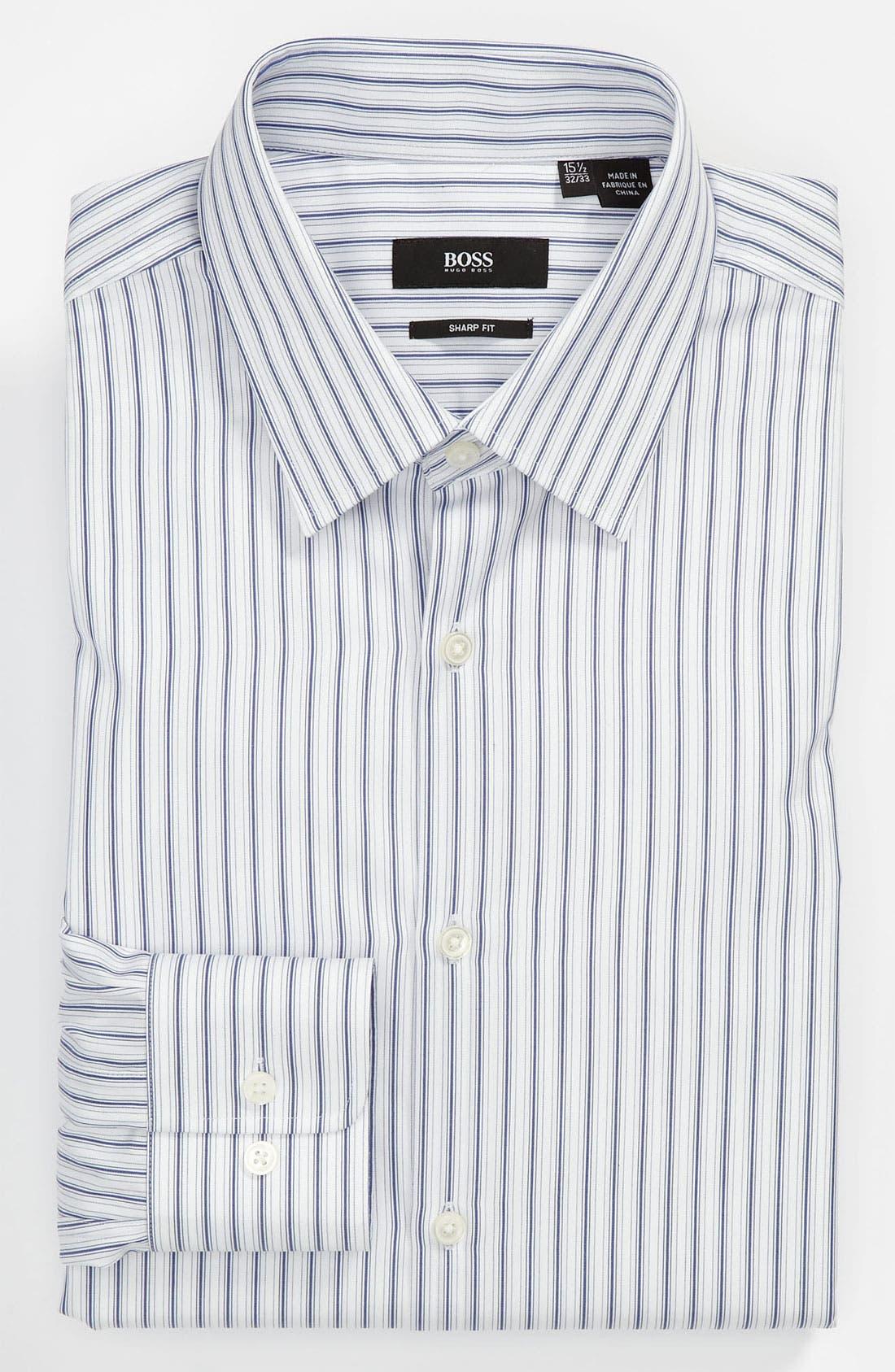 Main Image - BOSS Black Sharp Fit Dress Shirt