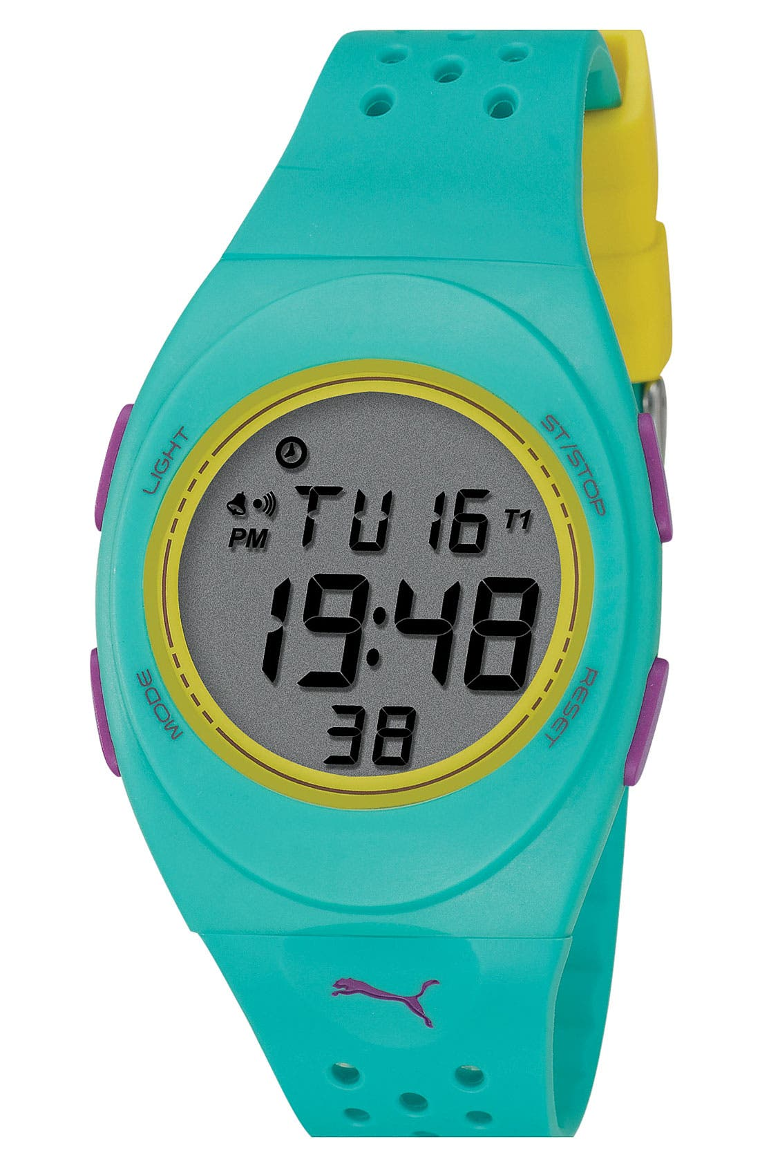 Alternate Image 1 Selected - PUMA 'Faas 250' Digital Sport Watch, 38mm